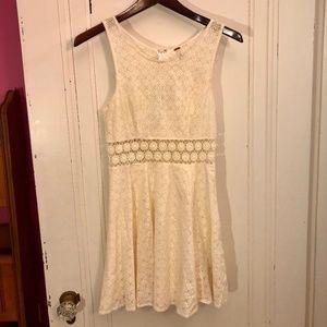 Free People Cream Sun Dress Size 0